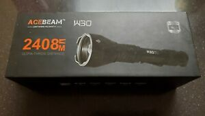 Acebeam W30 6500K LEP Flashlight 500 lumen brand new.