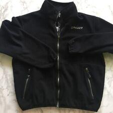 Men��s Small Black Spyder Zip Up Jacket