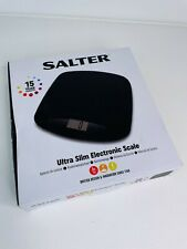 Salter Black ULTRA SLIM ELECTRONIC SCALE - Great ebay / kitchen scales - 3KG