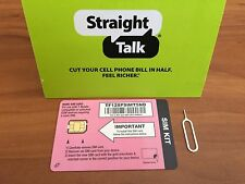 Straight Talk T-Mobile Nano SIM for BYOP for T-mobile or Unlocked GSM Phones