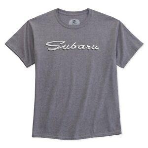 Subaru Genuine Script Tee T Shirt Forester Legacy Outback Wrx Sti Ascent Impreza