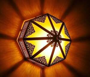 Moroccan Chandelier, Ceiling Light, Deluxe Moroccan Lantern , use Also as Wall