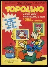 TOPOLINO N° 1302 - 9 NOVEMBRE 1980 - CONDIZIONI OTTIMO