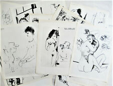 PICASSO -TWENTY (20) ORIGINAL HELIOGRAVURES - SUITE#22 - 1954 - FREE SHIP IN US!