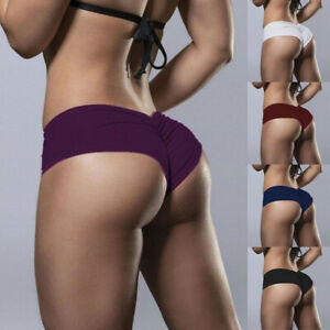 Womens Sports Shorts Booty Peach Butt Lift Hot Pants Gym Fitness Yoga Shorts