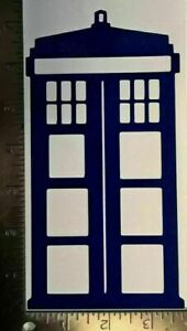 7 Inch Doctor Who Tardis Dr Who Time Lord Vinyl Decal Sticker Time Lord AUC