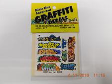 BLAIR LINE LASER CUT GRAFFITI DECALS N SCALE #1249 SET # 6
