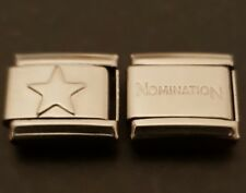 Star Italian Charm Link + 1 Nomination Bracelet Charm Link Charms