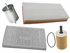 VAG 6cyl (02-06) Air Oil Fuel Cabin Filters (4 pcs) engine intake cleaner pollen