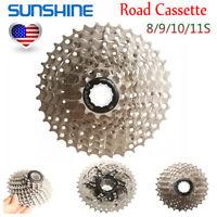 SUNSHINE 8/9/10/11S Road Bike Cassette 11-25/28/32/36 Sprocket Fit Shimano/SRAM