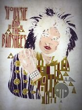 Siouxsie And The Banshees 70s 80s, vintage retro tshirt transfer print new, NOS