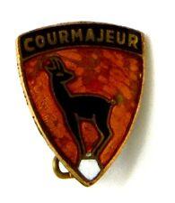Spilla Courmayeur cm.1,5 x 1,8