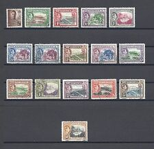 DOMINICA 1940-42 SG 99/109A, 103A USED Cat £67.25