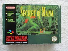 NINTENDO SNES - SECRET OF MANA (BOXED)