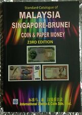 Steven Tan 23rd edition Malaysia Singapore-Brunei coin & paper money catalogue.