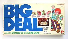 Big Deal Board Game Lakeside 1977 Complete except for one chip!