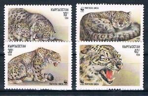Kasachstan; WWF, Panther, Satz komplett postfr. **