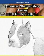 American Staffordshire Terrier Coloring Book