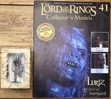 Señor De Los Anillos Edición 41 Lurtz nacieron en Isengard figura & Revista