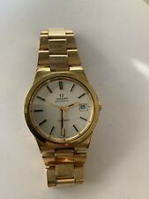 OMEGA Geneve Automatic 36mm Gold Plate Cal.1012 Vintage Watch