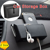 New Car Universal  Mobile Phone Holder Pouch Bag Storage Charge Box Car Parts