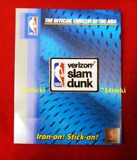 Official 2016 2017 NBA All Star Game Verizon Slam Dunk Contest collectible patch