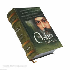 "Osho Sabiduria Maestro Rebelde collectible 2.65"" tall miniature book easy read"