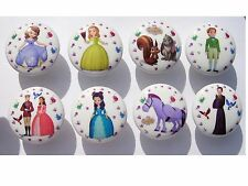 8 Sofia The First And Friends Kids Girls Dresser Drawer Knobs Made As Ordered