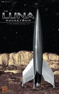 2011 Pegasus # 9111 Luna Rocket ship 1/144th Scale from movie Destination Moon