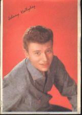 JOHNNY HALLYDAY Carte Promo 1960s Card