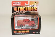 # CORGI FIRE HEROES CS90104 SEAGRAVE SEDAN PUMPER CHARLOTTE N.C. MINT BOXED