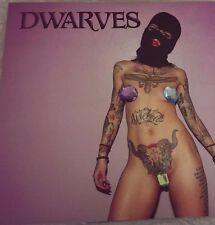 NEW The Dwarves BLUE ETCHED transparent vinyl Lp Radio Free Limited Edition blag
