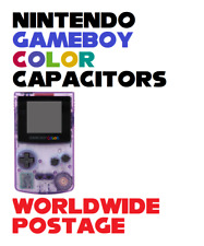 Replacement Capacitor Kit for Nintendo Gameboy Color / 3 x SMT Caps / Repair