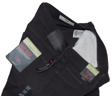 M&S Collection BNWT 360 Flex Stretch Straight Fit Grey Jeans Cost 39.50 34W 29L