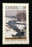 Canada #1256 MNH, Christmas Winter Landscapes Stamp 1989