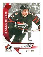 2019-20 Upper Deck Team Canada Juniors JACK STUDNICKA Exclusives #29 147/250