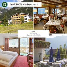 Vorarlberg 6 Tage Wald Urlaub Hotel Landhaus Sonnblick Reise-Gutschein Skigebiet