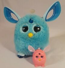 Hasbro Bluetooth Furby Connect 2016 Light Blue Turquoise Teal toy