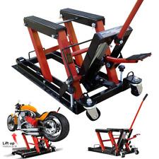 Vivohome Motorcycle Atv Jack Lift Stand Hydraulic Bike Auto Hoist Repair 1500 Lb