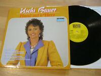 LP Uschi Bauer Hand auf's Herz Vinyl Koch Records 121 784