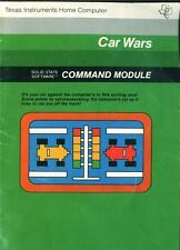TI-99/4A CAR WARS  TI ARCADE GAME CARTRIDGE & MINT MANUAL TESTED