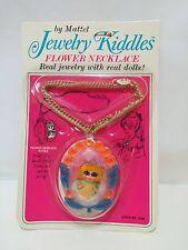 Vintage Liddle Kiddle Jewelry Flower Necklace Doll MOC Mint Very Rare VHTF #3759