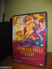 PEPLUM URSUS NELLA VALLE DEI LEONI DVD NUOVO SIGILLATO ED FURY BRAGAGLIA