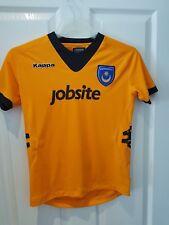 Childs Portsmouth 2012-2013 Away Kappa Football shirt Size 12 Years