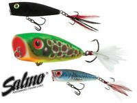 Popper Surface Top Water Lures Salmo FURY POP Rap Bait Bass Fishing Pike Perch