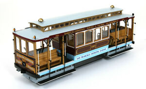 Occre San Francisco Cable Car 1:24 Scale 53007 Wooden Model Kit