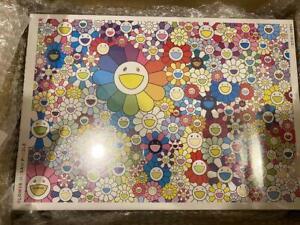 TAKASHI MURAKAMI 1000 Pieces Jigsaw Puzzle Flower Kaikai Kiki Zingaro Japan