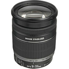 Canon EF-S 18-200mm f/3.5-5.6 IS Lens MINT