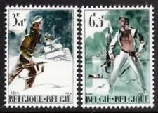 BELGIUM MNH 1964 SG1899/1900 Liberation-Resistance