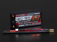 Turnigy nano-tech Shorty 4200mah 2S2P 65~130C Hardcase Lipo Pack (ROAR APPROVED)